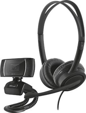 Trust Doba 2-in-1 Home Office Set met webcam en headset