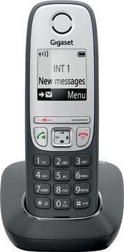 Gigaset A415 DECT draadloze telefoon, zwart