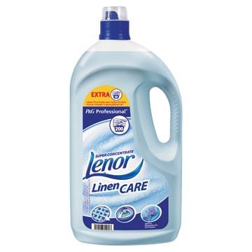 Lenor Professional wasverzachter lentefris, 200 wasbeurten, flacon van 4 liter