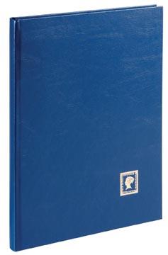 Pagna postzegelalbum, A4, 32 vel, blauw