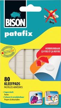 Bison Patafix kleefpads, blister met 80 stuks