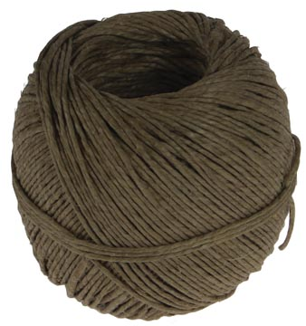Vlaskoord touw uit 2 draden, bol van 100 g, +/- 90 m