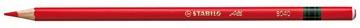 STABILO All potlood, rood