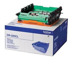 Brother drum, 25.000 pagina's, OEM DR-320CL, zwart