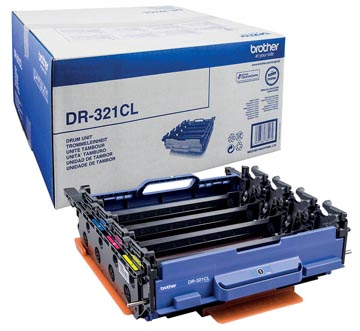 Brother drum, 25.000 pagina's, OEM DR-321CL, zwart